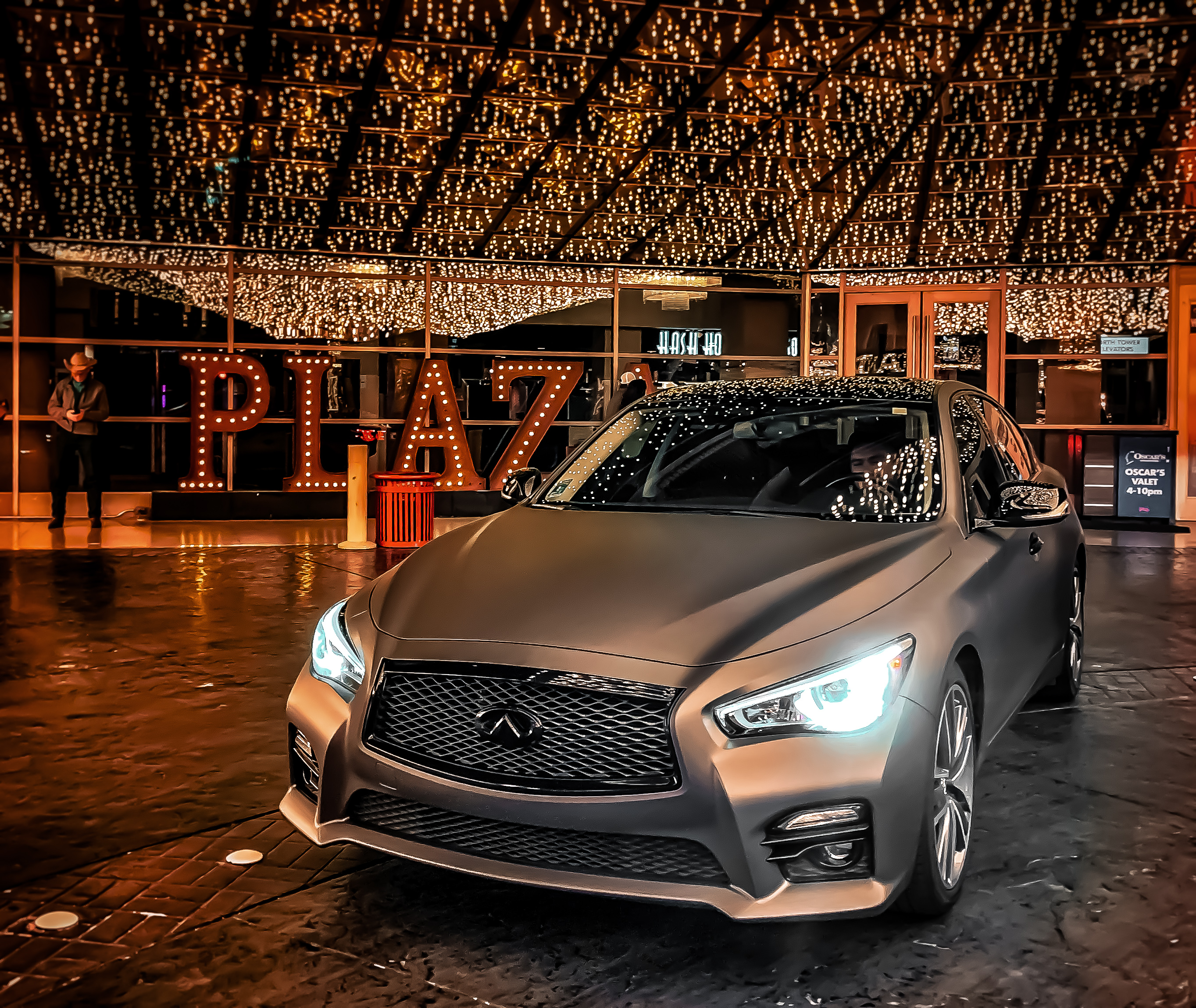 wrapped infiniti q50